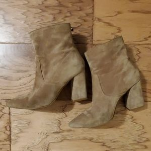 Aldo Suede Ankle Boots Booties